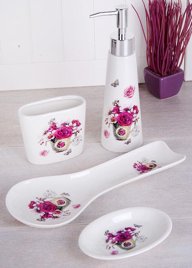 Queen's kitchen Porselen 4 Parça Mutfak Takımı - GÖ-G332-2