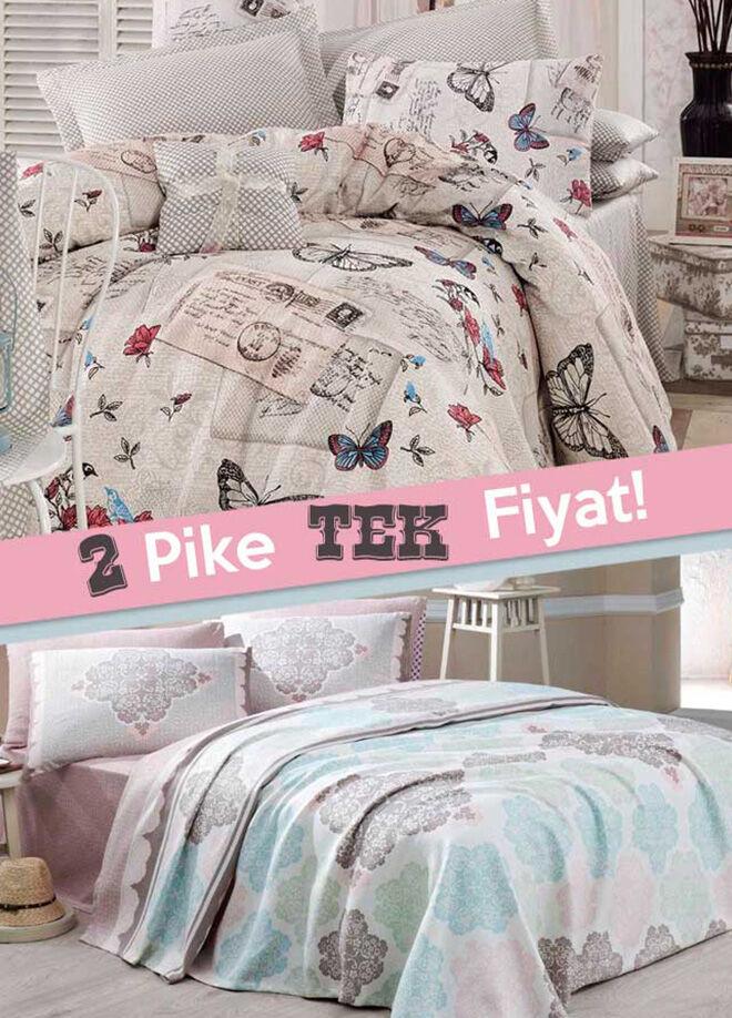 Eponj home 2'li Pike Çift Kişilik Birdcage-Retrofly