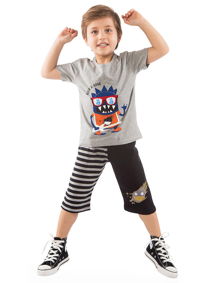 Cute&Crazy Şort Tshirt 2'li Takım 24.04 32