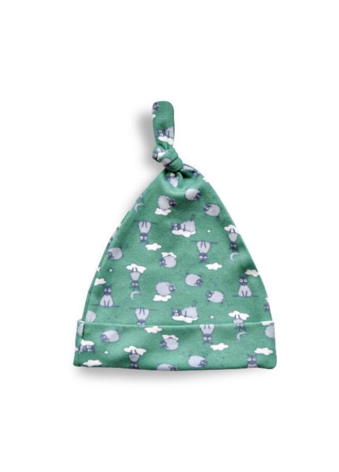 Baby Corner Kuzu Kukuleta Şapka Yeşil