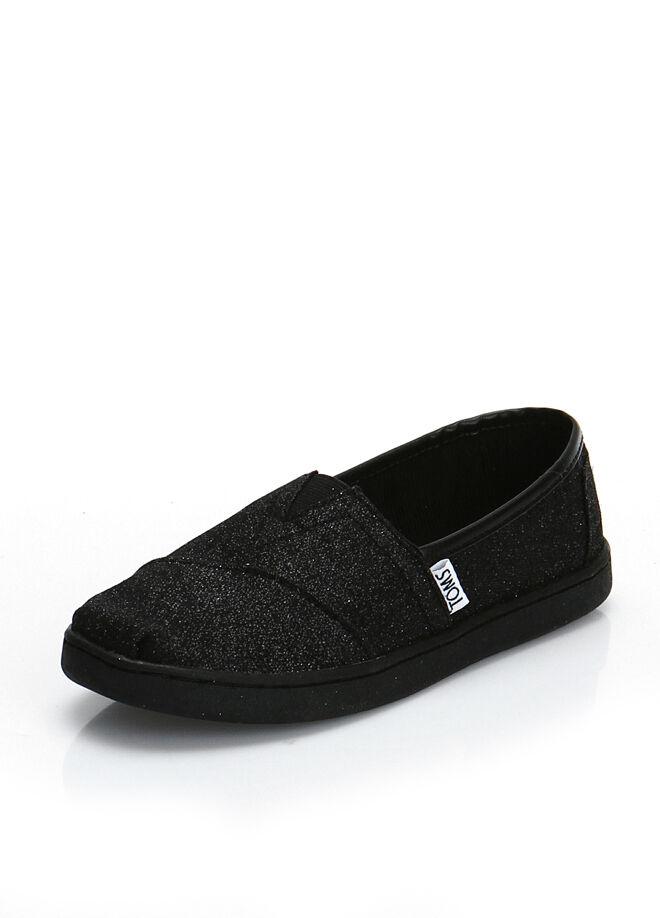 Toms Black Glimmer Yt Alpr Esp Çocuk Ayakkabı