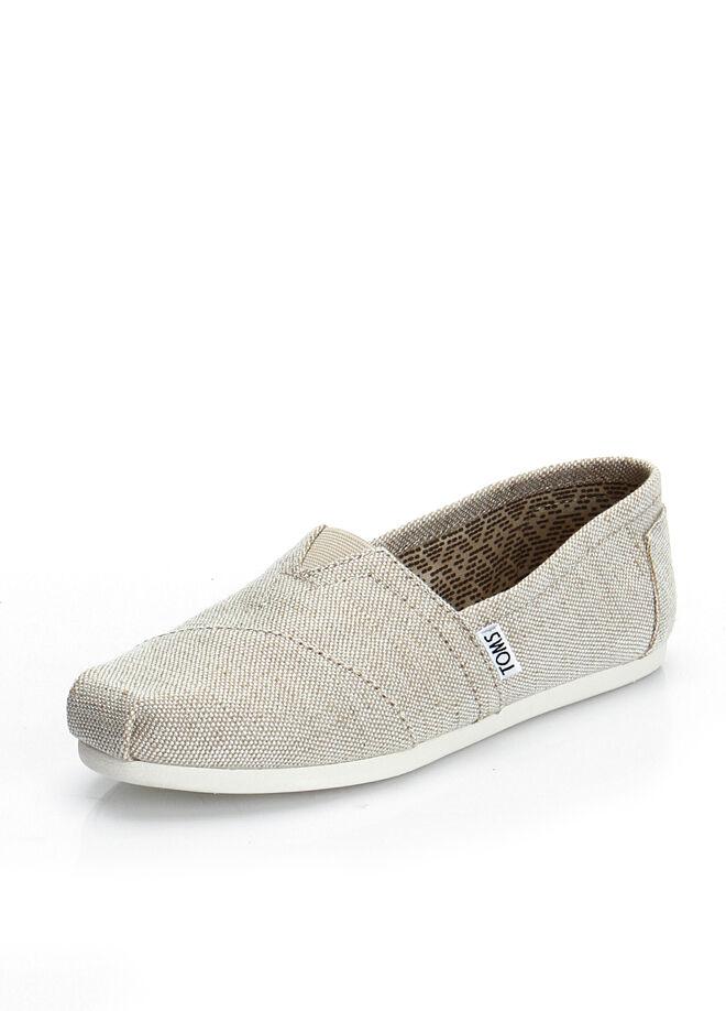 Natural Metallic Burlap Wm Alpr Esp Kadın Ayakkabı