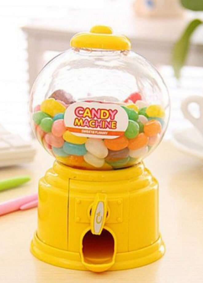Hepsi dahice Mini Şeker Makinesi ve Kumbara Candy Machine