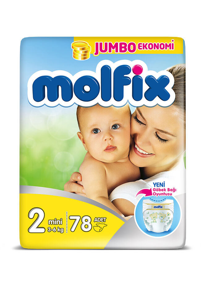 Molfix Molfix Comfort Fıx Mını Jumbo 2 Beden 78 Adet