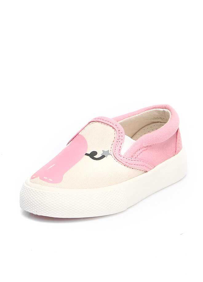 Bucketfeet Pink Elephant Çocuk Günlük Ayakkabı