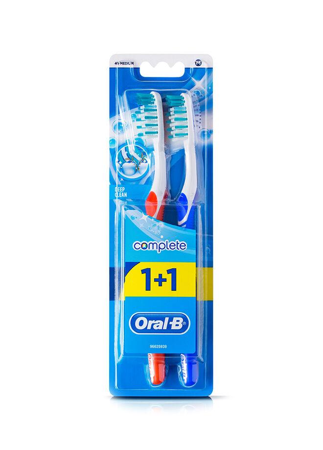 Oral-b Diş Fırçası Complete Ekstra Uzun Kıllar 40 Orta 1 Alana 1 Bedava Paketi