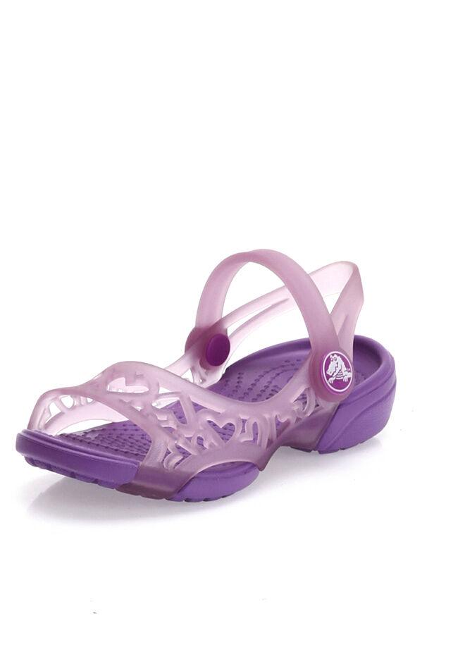 Crocs Adrina Hearts Sandal C Çocuk Sandalet
