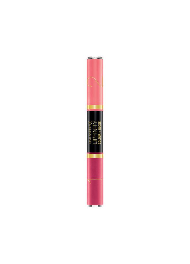 Max Factor Lipfinity Colour & Gloss Ruj ve Renkli Parlatıcı 650 Lingering Pink