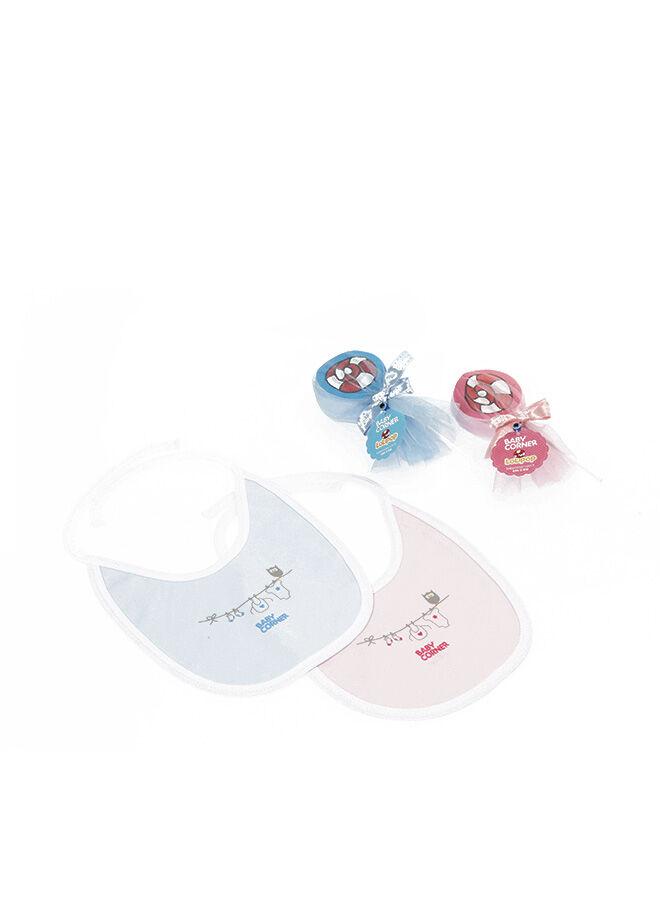 Baby Corner Lolipop Önlük Pembe