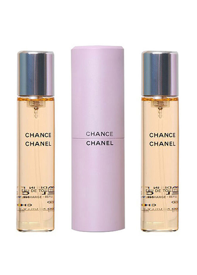 Chanel Chance Edt Purse Spray Set