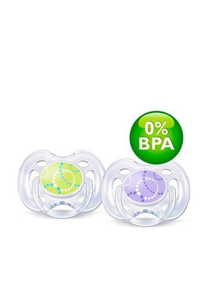 Philips Avent 0% Bpa Free Flow Yalancı Emzik 0-6 Ay Modern Desenli 2'Li