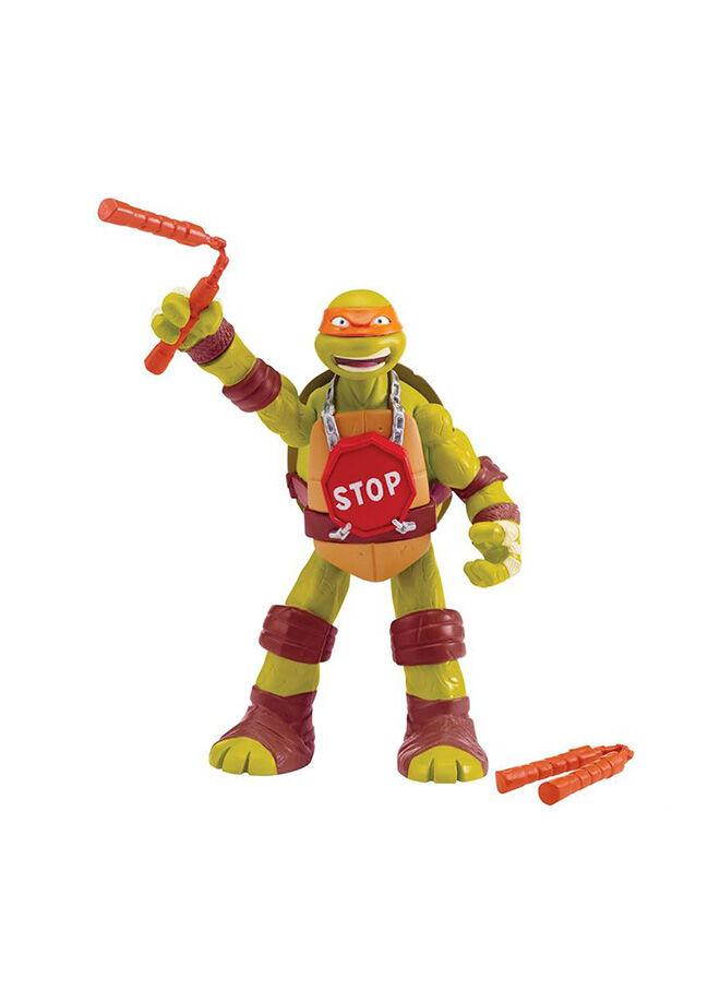 Ninja Kaplumbağalar Ninja Kaplumbağalar Michelangelo Sesli Dövüşen Figür Oyuncak