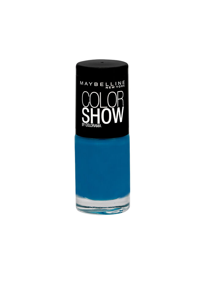 Maybelline New York Color Show Oje 654 Superpower Blue
