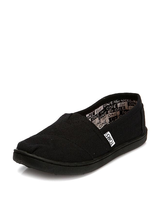 Toms Black Canvas Yt Clsc Alprg Çocuk Ayakkabı