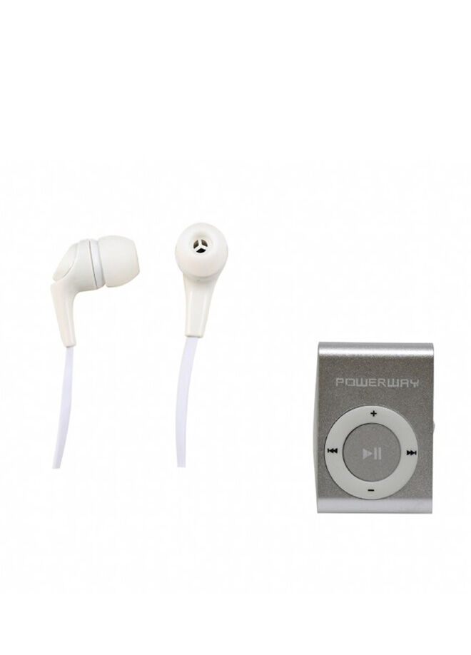 Adalin Powerway Mp3 Player Hediyeli Silikon Stereo Kulakiçi Kulaklık