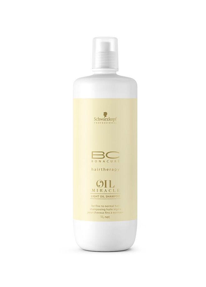 Bc Bonacure Oil Miracle Light Oil Şampuan 1000 ml.