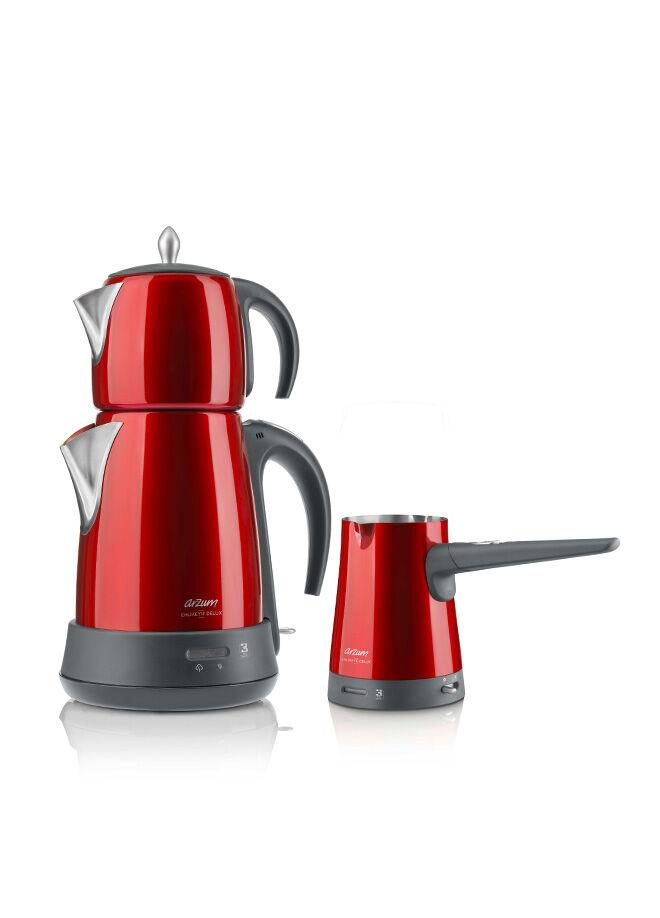 Arzum Arzum Ehlikeyf Delux Çay Ve Kahve Makinesi Seti