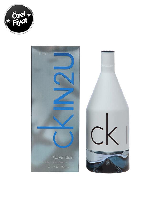 Calvin Klein In2u Erkek Parfüm EDT 150 ml.