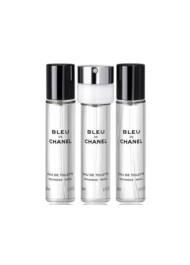 Chanel Bleu De Chane Erkek Parfüm EDT Refill Sprey Set