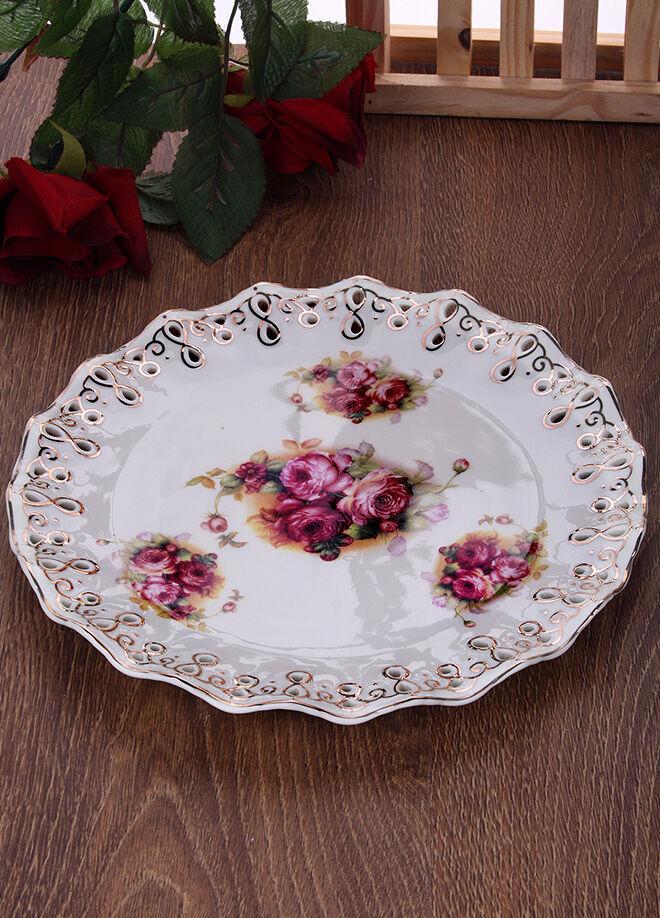 Hera Concept Hera Rose Porselen Pasta Tabağı