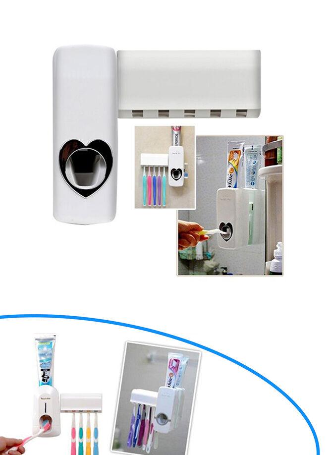 Actto Otomatik Diş Macunu Sıkacağı ve 5 Adet Diş Fırçalığı