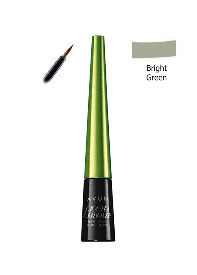 Avon Metalik Likit Eyeliner Bright Green