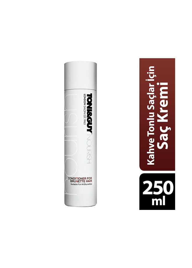 Toni & Guy Kahve Tonlarındaki Saçlar İçin Saç Kremi 250 ml.