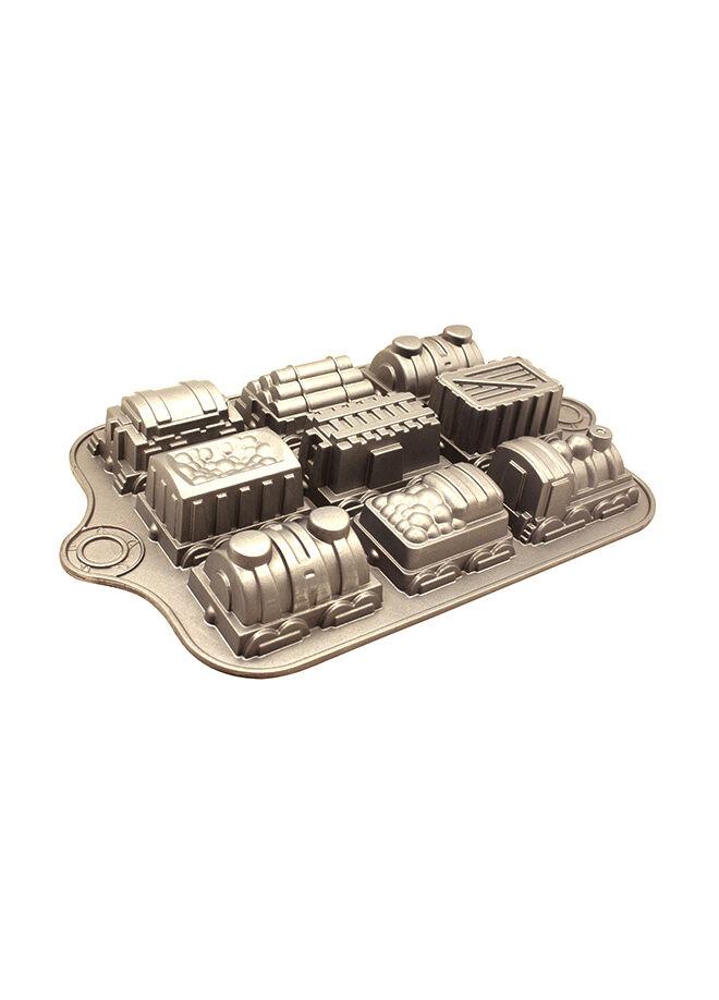 Esse Esse D'or Döküm Alüminyum Tren Kek Kalıbı 39x24,5 cm