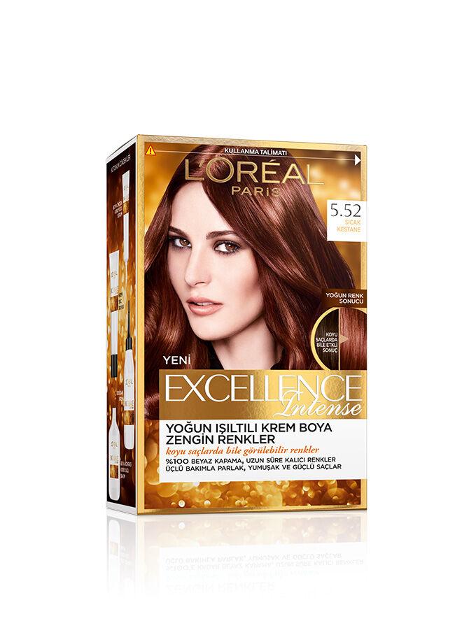 L'Oréal Paris Excellence Intense  5.52 Sıcak Kestane