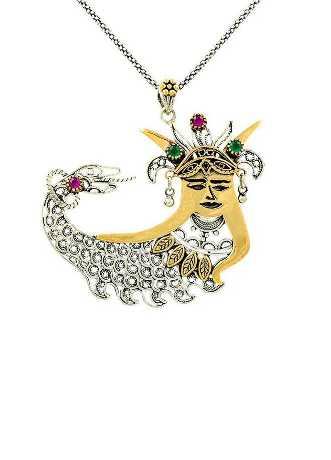 Söğütlü Silver Kolye-sgtl1568