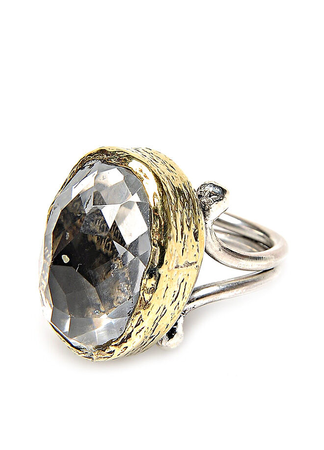 Söğütlü Silver Kuars Taşlı Ayet-El Kürsi Yazılı Yüzük-A2FD88225FA0C