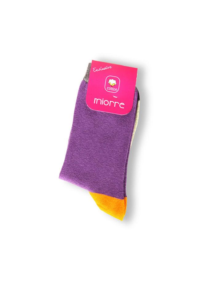 Miorre Desenli Pamuk Çorap