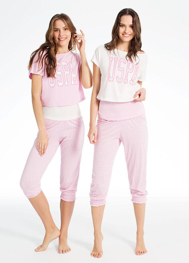 U.S. Polo Assn. 3'lü Pijama Takım