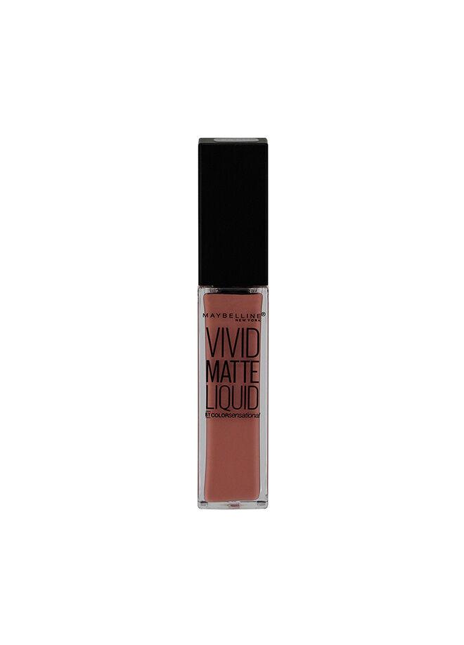 Maybelline New York Color Sensational Vivid Matte Mat Likit Ruj - 50 Nude Thrill
