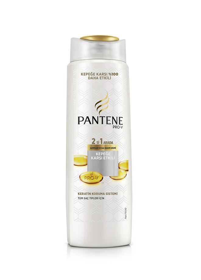 Pantene 2'si 1 Arada Şampuan ve Saç Bakım Kremi Kepeğe Karşı Etkili 600 ml.