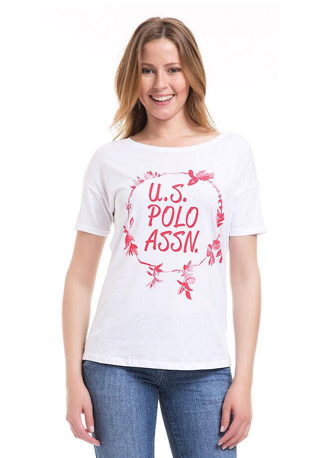 U.S. Polo Assn. Kadın Regular Fit T-Shirt