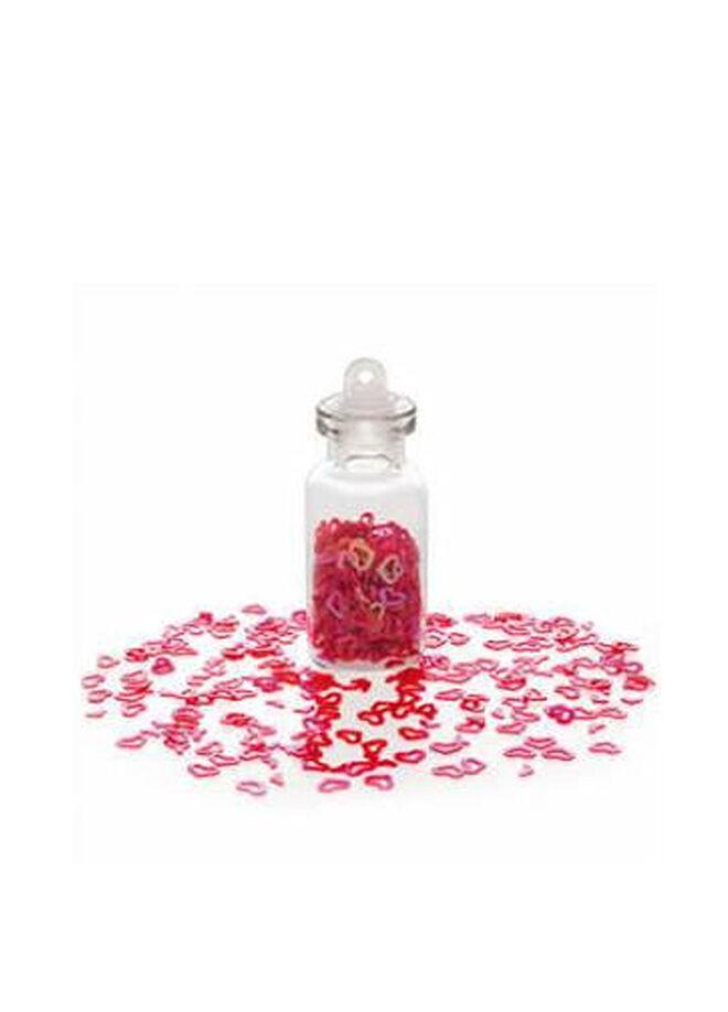 Avon Kalp Şeklinde Kalp Süsler Şişe İçersinde