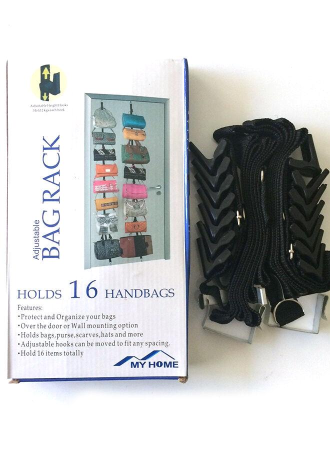 Hepsi dahice Bag Rack Kapı Arkası Çanta Düzenleyici 2 Adet