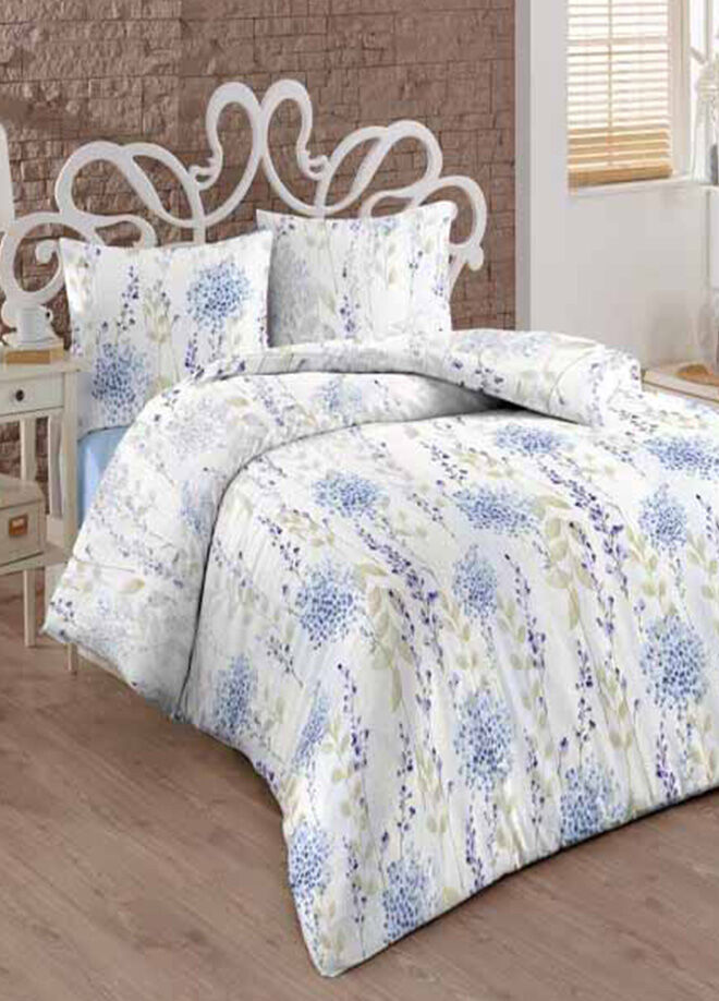 Esse Esse Home Blue Hydrangea Nevresim Seti Tek Kişilik 160x220 cm
