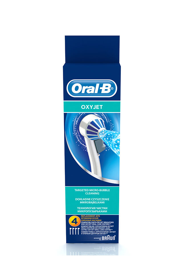 Oral-b Oral-B Ağız Duşu Yedek Başlığı Oxyjet 4 adet