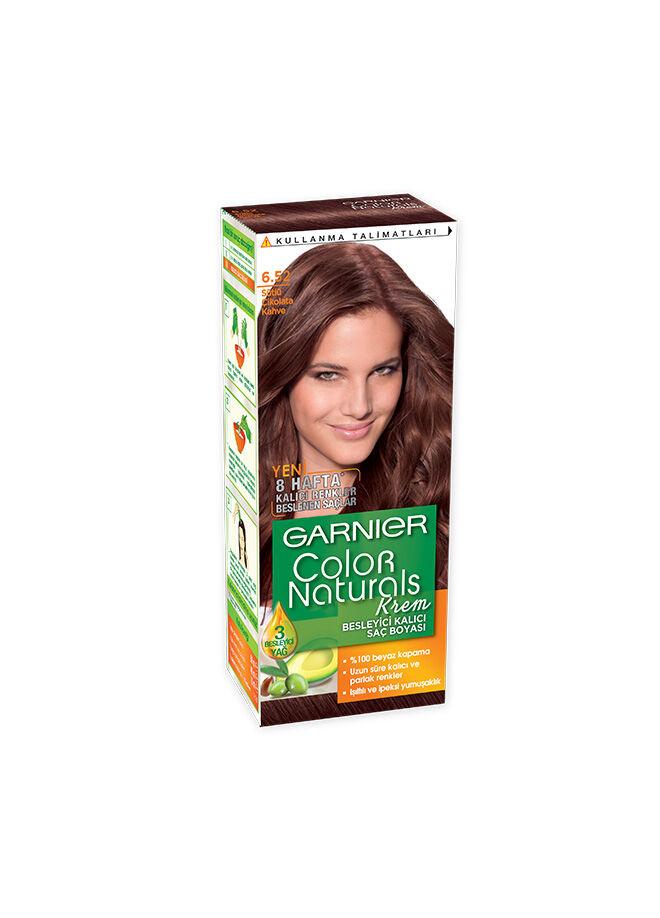 Garnier Color Nat Tr 6.52 Sütlü Çikolota Kahve