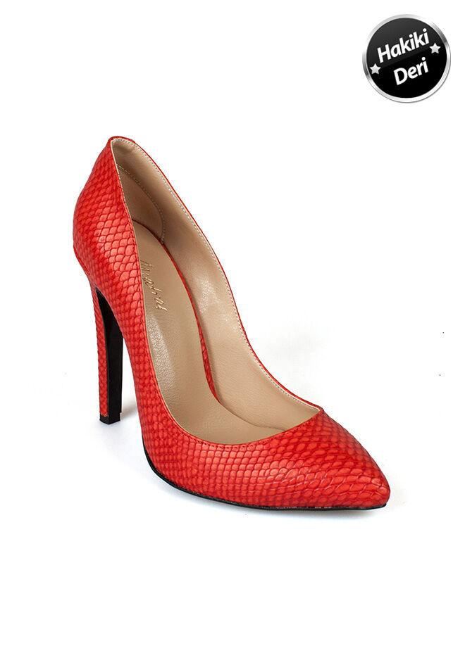Matraş Kadın Klasik Topuklu Ayakkabı
