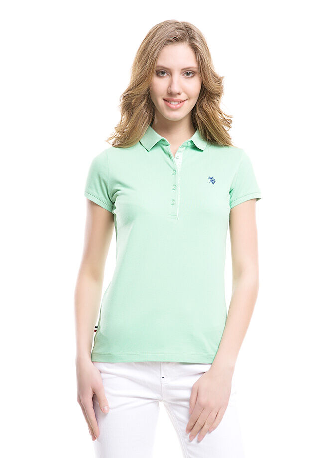 U.S. Polo Assn. Kadın Slim Fit T-Shirt
