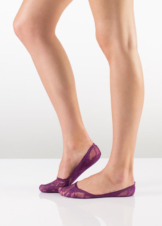 İtaliana Lace ince Dantelli Babet Çorap 2'li Paket
