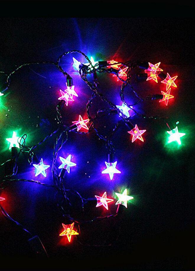 Hepsi dahice Yıldızlı 40 Led Dolama Dekor Işıkları