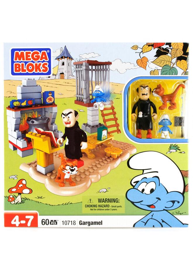 Mega Bloks Şirinler Gargamel 60 Parça Oyun Seti