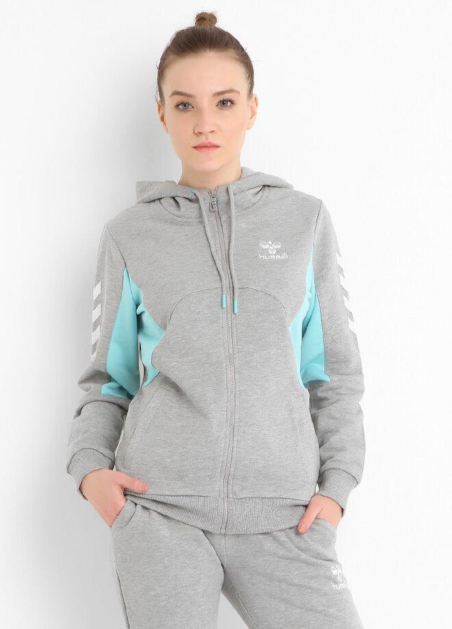 Hummel Maria Zip Hoodie Kadın Zip Kapüşonlu Sweatshirt