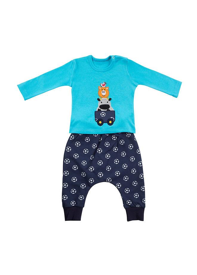 La Petite Pantolon Tshirt 2'li Takım