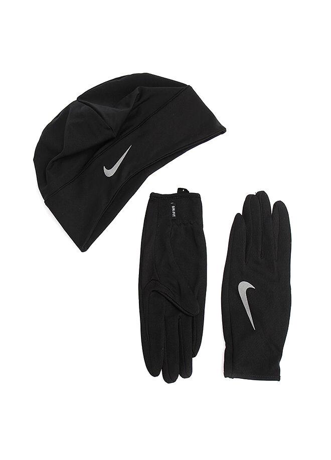 Nike Dri-Fit Running Beanie/Glove Set Eldiven-Bere Seti