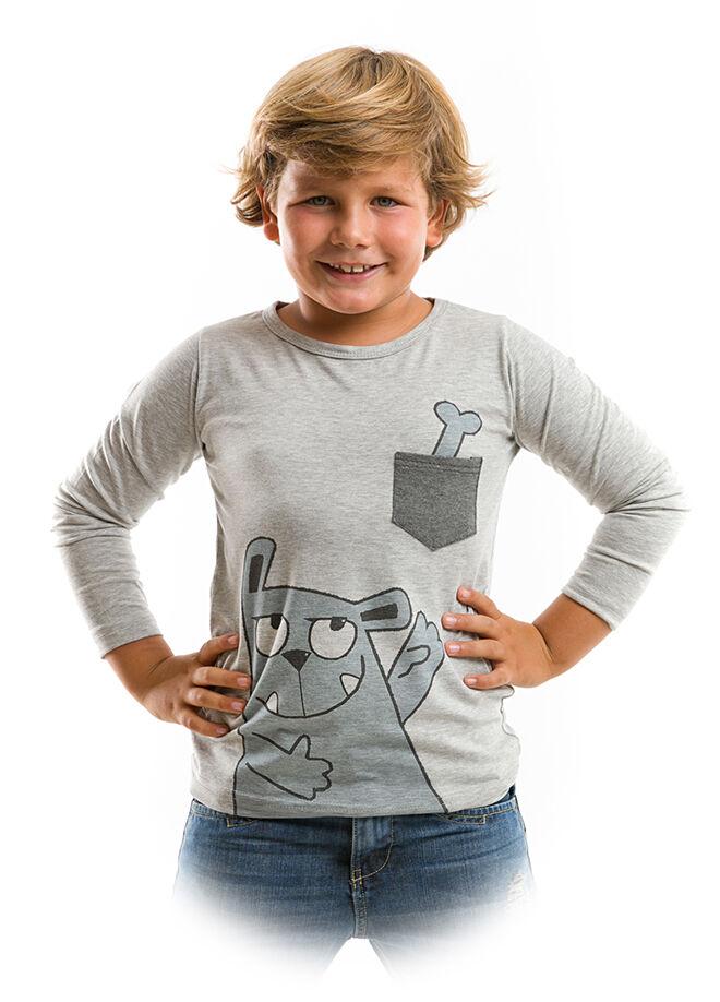 Mushi Kemik Cepte T-Shirt